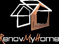 RenovMyHome- Logo Blanc